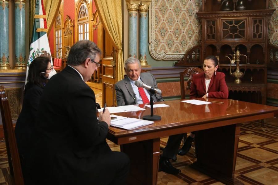 AMLO asegura que presidente de Alemania lo ayudará con el préstamo del Códice Maya de Dresde