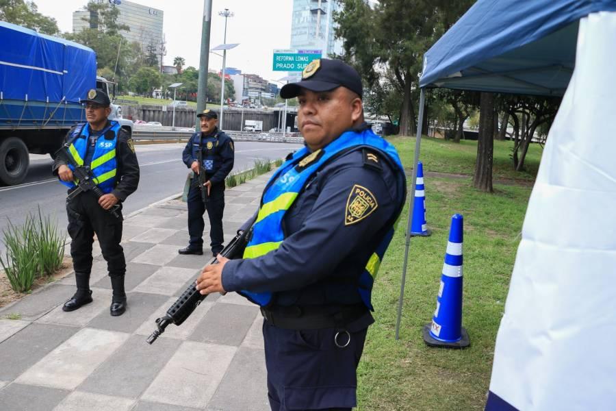 Baja 76 % extorsión en la Ciudad de México