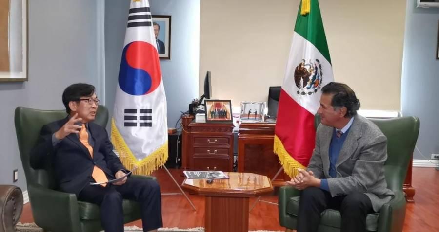 Suh Jeong-in  Embajador de la República de Corea en México
