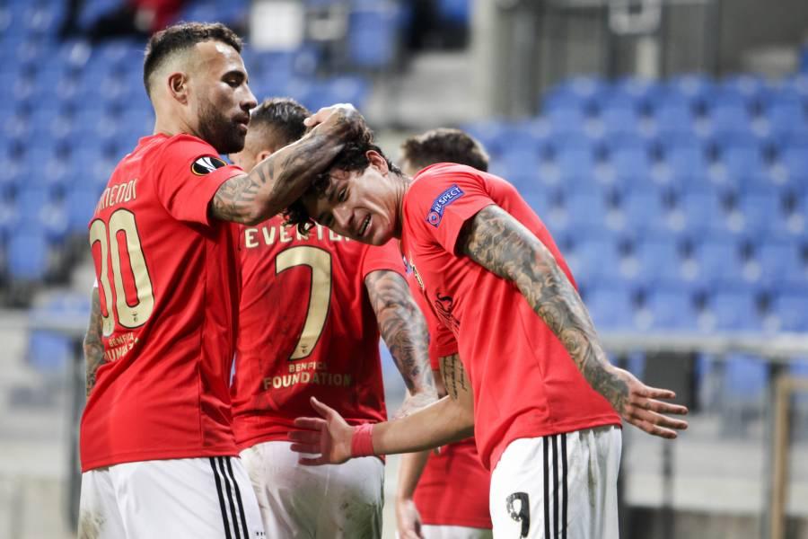 Benfica y Arsenal logran victoria; Napoli cae en la Europa League