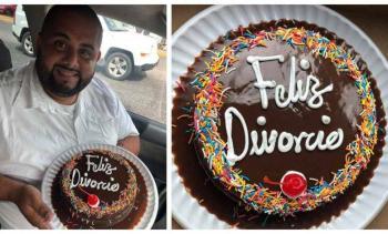 Abogado regala pasteles a parejas que decidan separarse