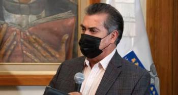 Llama gobernador de Nuevo León a no relajarse para evitar aumento crítico de casos Covid
