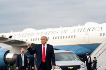 El presidente Donald Trump votará el próximo sábado en Florida