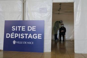 Francia reporta más de 40 mil casos en 24 horas