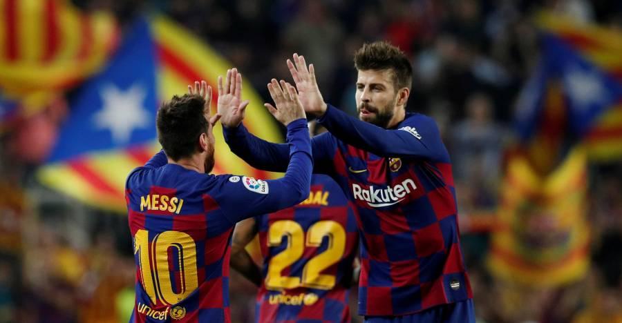 Piqué defiende a Messi y atiza a la directiva del Barcelona