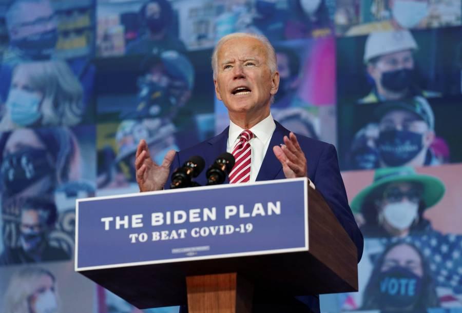 Biden promete vacuna gratuita contra el COVID-19 si gana elecciones