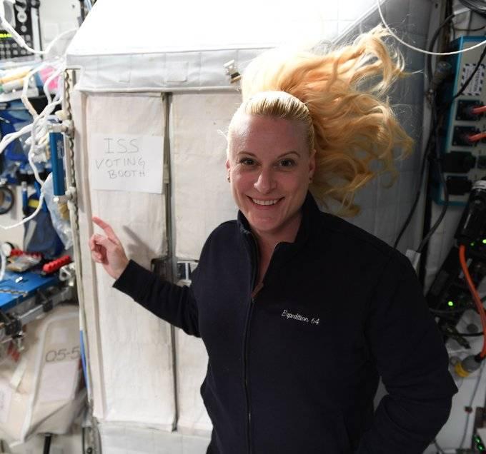 Astronauta votará en las elecciones de EU desde el espacio