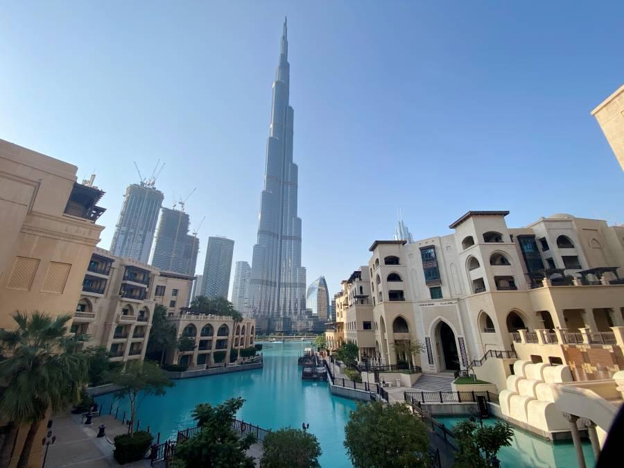 Dubái establece el récord Guinness a la fuente más grande del mundo