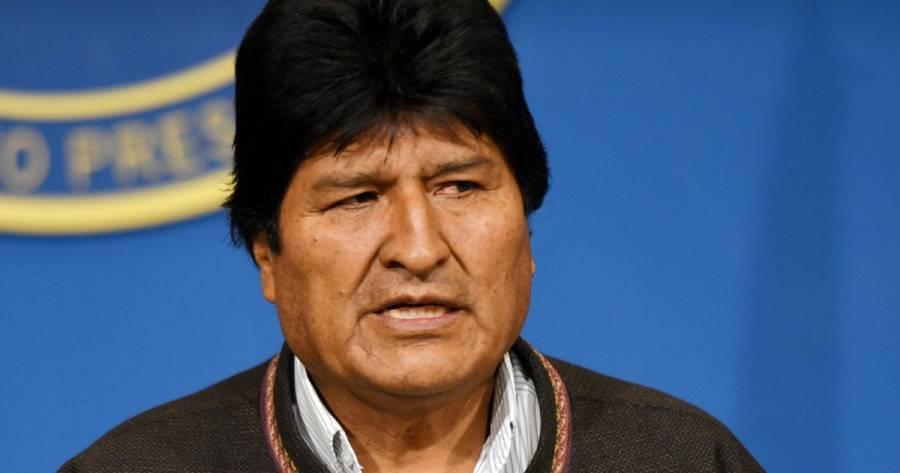 Evo Morales sale de Argentina hacia Venezuela