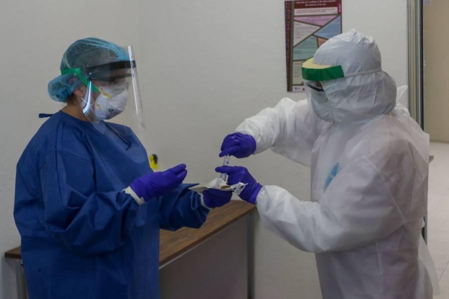 Destaca GOAN entrega y valentía de médicos en lucha contra el COVID-19