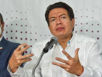 Mario Delgado dará mensaje tras resultados de encuesta