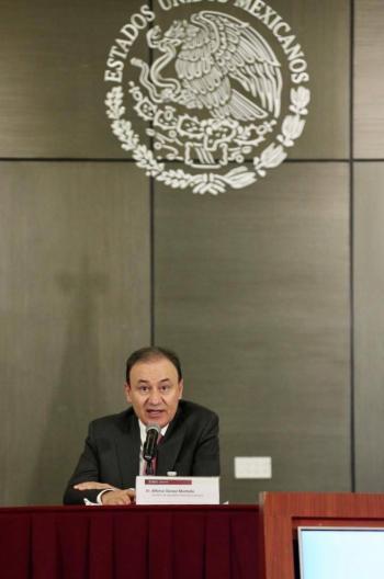 Durazo asegura que gobierno no protege a El Chapo
