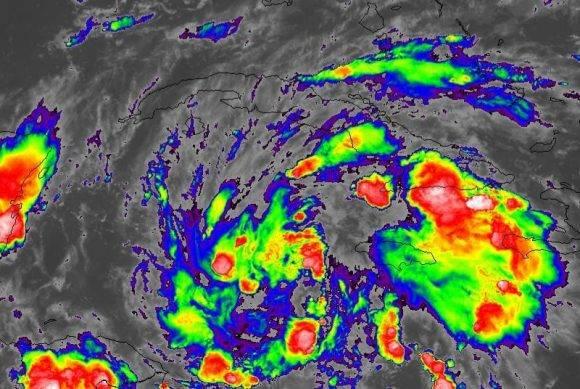 Pronostican formación de una depresión tropical en el mar Caribe