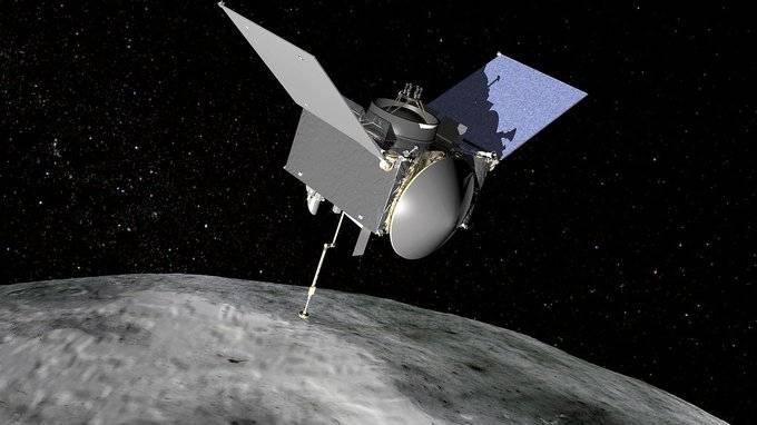 """Sonda de la NASA recoge muestras """"suficientes"""" del asteroide Bennu"""