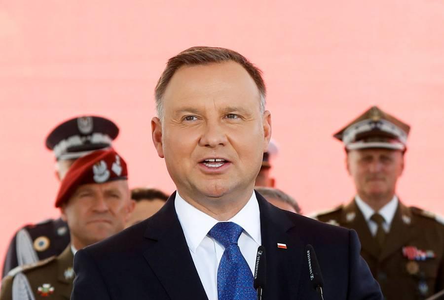 El presidente de Polonia, Andrzej Duda, se contagia de Covid-19