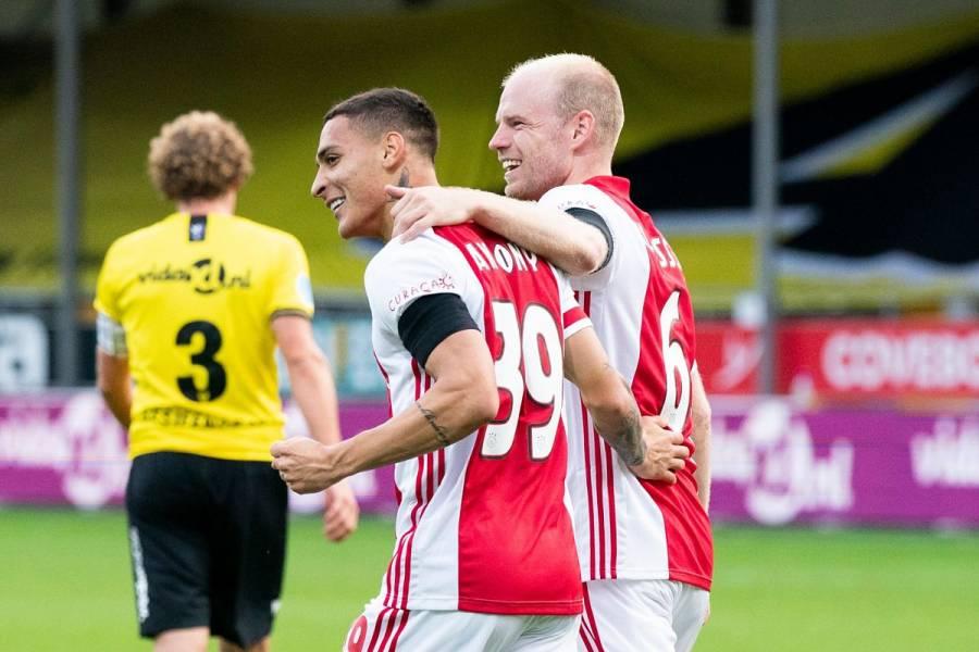 ¡Goleada de récord! Ajax le mete 13 goles al VVV-Venlo en la Eredivisie