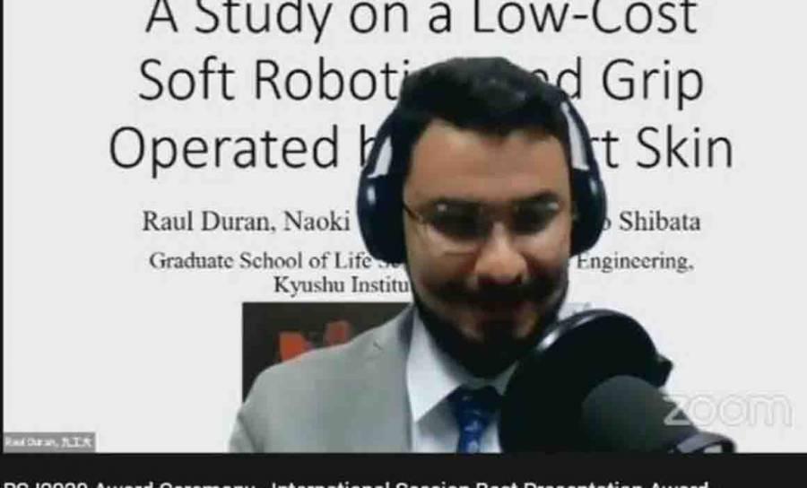 Ingeniero del TecNM gana concurso de robótica en Japón