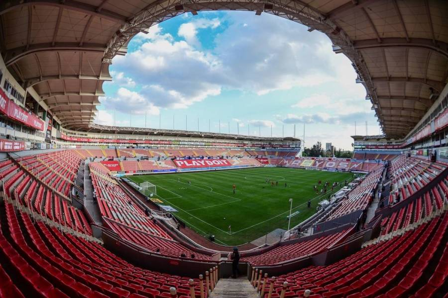 Necaxa da marcha atrás y cierra su estadio para duelo ante Toluca