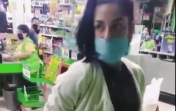 Mujer intenta hurtar artículos entres su ropa y es descubierta