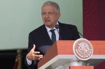 """""""Rescataremos a Pemex y la CFE, a mí no me paga Repsol"""", afirma AMLO"""