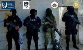 Nueve detenidos y cuatro inmuebles asegurados tras cateos en Benito Juárez