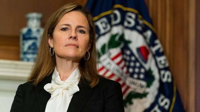 Senado de Estaos Unidos aprueba nombramiento de Amy Coney Barrett como magistrada del Tribunal Supremo