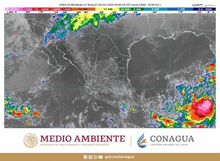 Alerta por tormenta tropical Zeta