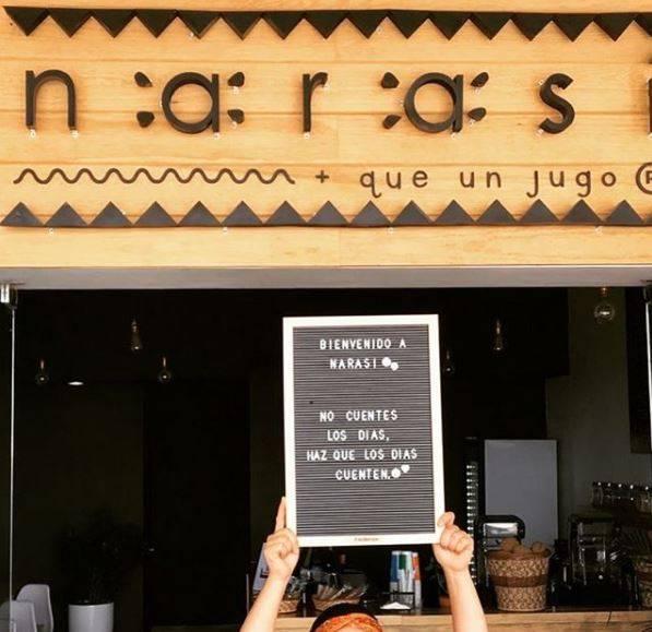 NARASI: Un juice bar en Querétaro inspirado en la cultura tarahumara