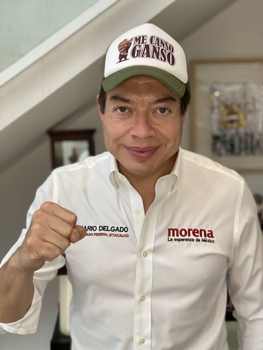 Delgado, en espera de nombramiento como líder de Morena