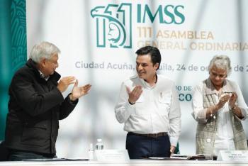 IMSS puede enfrentar la pandemia: Zoé Robledo