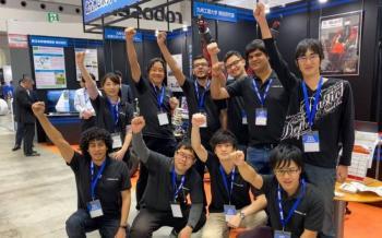 Gana estudiante mexicano premio de robótica en concurso japonés