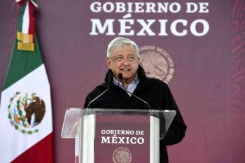 AMLO promete apoyo a Tamaulipas; FRENAAA protesta