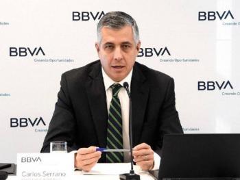 BBVA reduce contracción del PIB anual a 9.3%