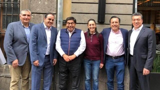 """Gobernadores morenistas llaman a los de la """"Alianza"""" a serenarse"""