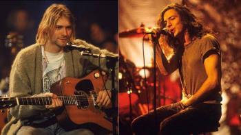 Eddie Vedder y Kurt Cobain