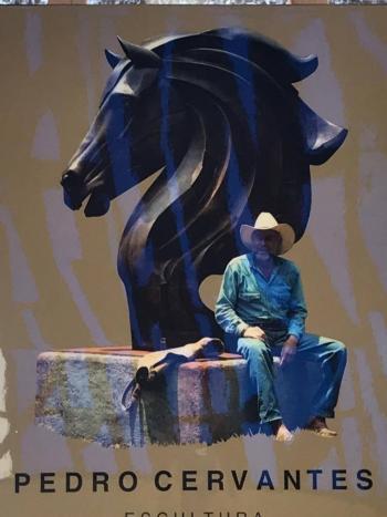 Fallece Pedro Cervantes, reconocido escultor mexicano