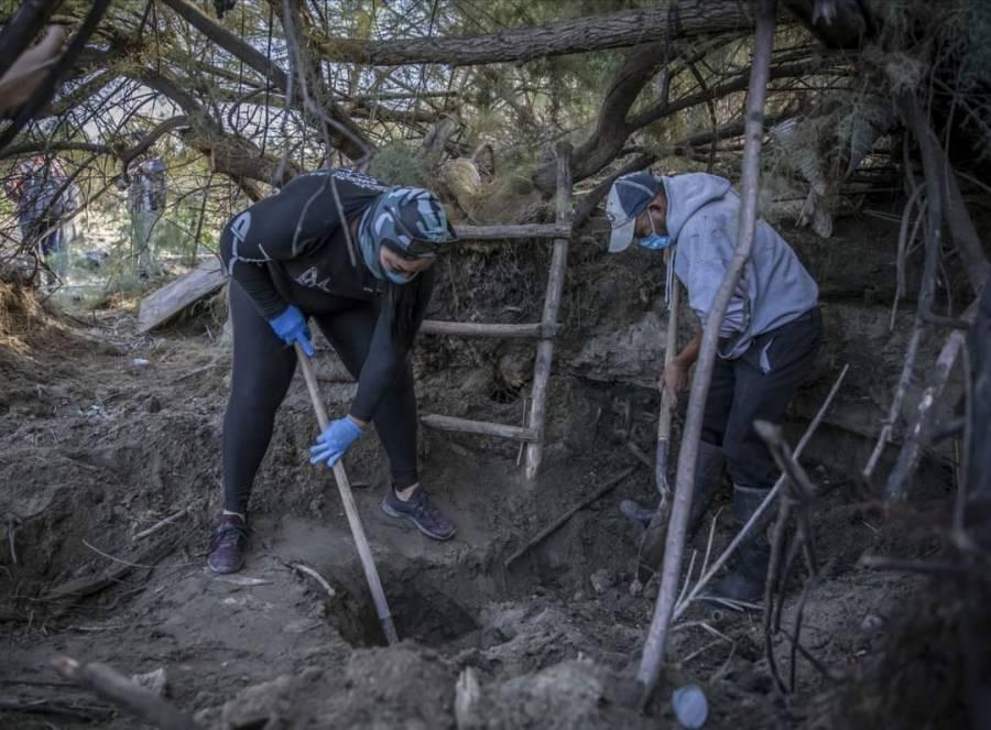 Localizan restos de 59 personas en fosas clandestinas en Salvatierra, Guanajuato