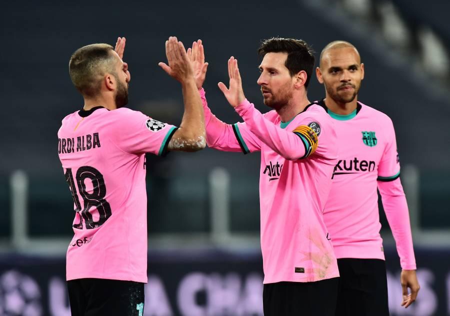 Barcelona supera a la Juventus sin problemas en la Champions