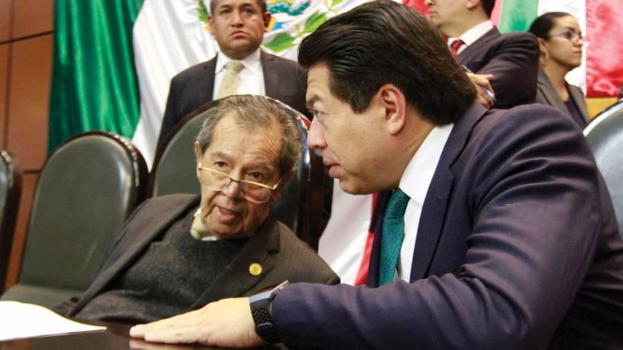 40 diputados de Morena desconocen a Mario Delgado como presidente del partido