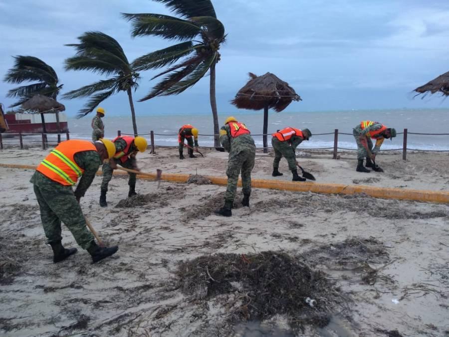 Ejercito mexicano apoyo a mas de 36 mil personas afectadas por Gamma, Delta y Zeta