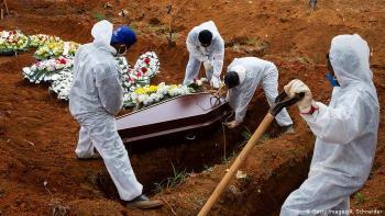 Brasil reportó 510 muertes por Covid-19 en las ultimas 24 horas