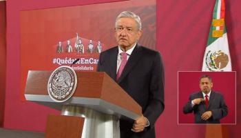 AMLO reitera llamado al autocuidado ante pandemia y su rechazo a medidas autoritarias