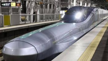 Presentan en Japón nueva generación de tren bala que alcanza los 382 km/h