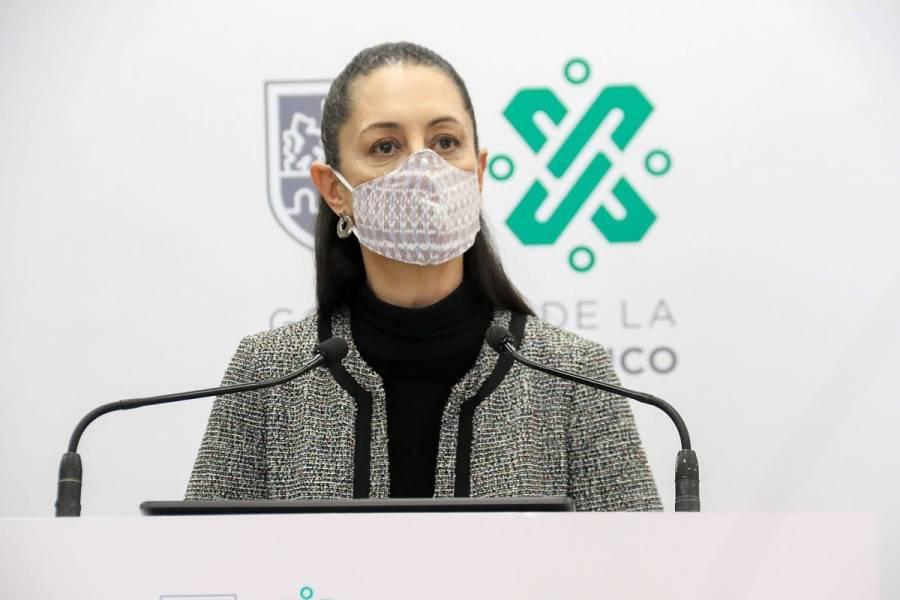 Claudia Sheinbaum descarta que CDMX vuelva al semáforo rojo la siguiente semana
