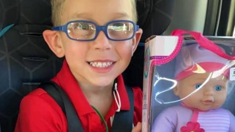 Un niño pide un regalo para ser el mejor papá del mundo