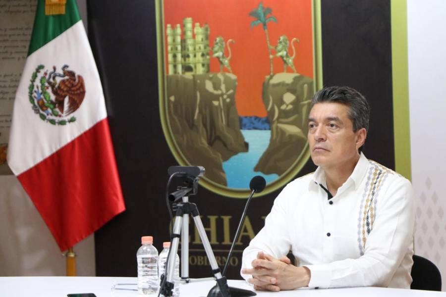 Participa Rutilio Escandón en reunión de la Conago con integrantes del Gobierno Federal