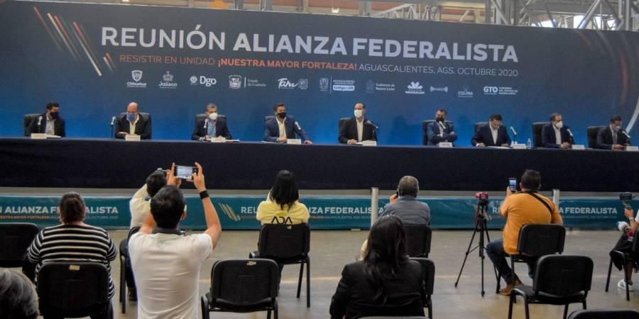 """""""¿Cuándo nos recibe?"""", revira Alianza Federalista a AMLO"""
