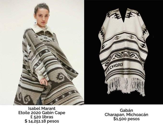 ¿Plagio? Señalan a diseñadora francesa de copiar a artesanos purépechas