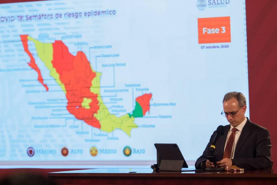 México reporta 912 mil 811 casos de Covid-19 y 90 mil 773 fallecidos