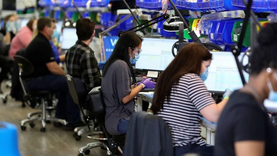 Solicitudes de ayuda por desempleo en EEUU descienden a 751 mil